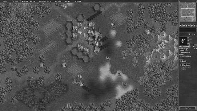 """Ritocco di una schermata del videogioco RPG """"The Battle for Wesnoth"""", consigliatomi da una mia carissima lettrice. L'immagine è tratta da www.wesnoth.org, da cui è possibile scaricare il gioco GRATUITO per diverse piattaforme."""