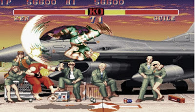 Fraternity skill of Street fighter 2