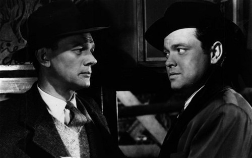 Joseph Cotten and Orson Welles The Third Man 1949 Joseph Cotten Orson Welles