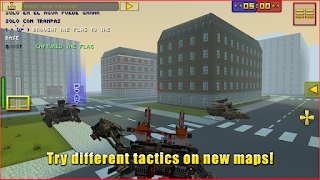 Blocky Cars Online Mod Apk Unlimited Lives