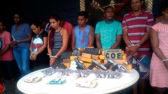 Megaoperação termina com 4 mortos e 14 presos em Salvador e Lauro de Freitas