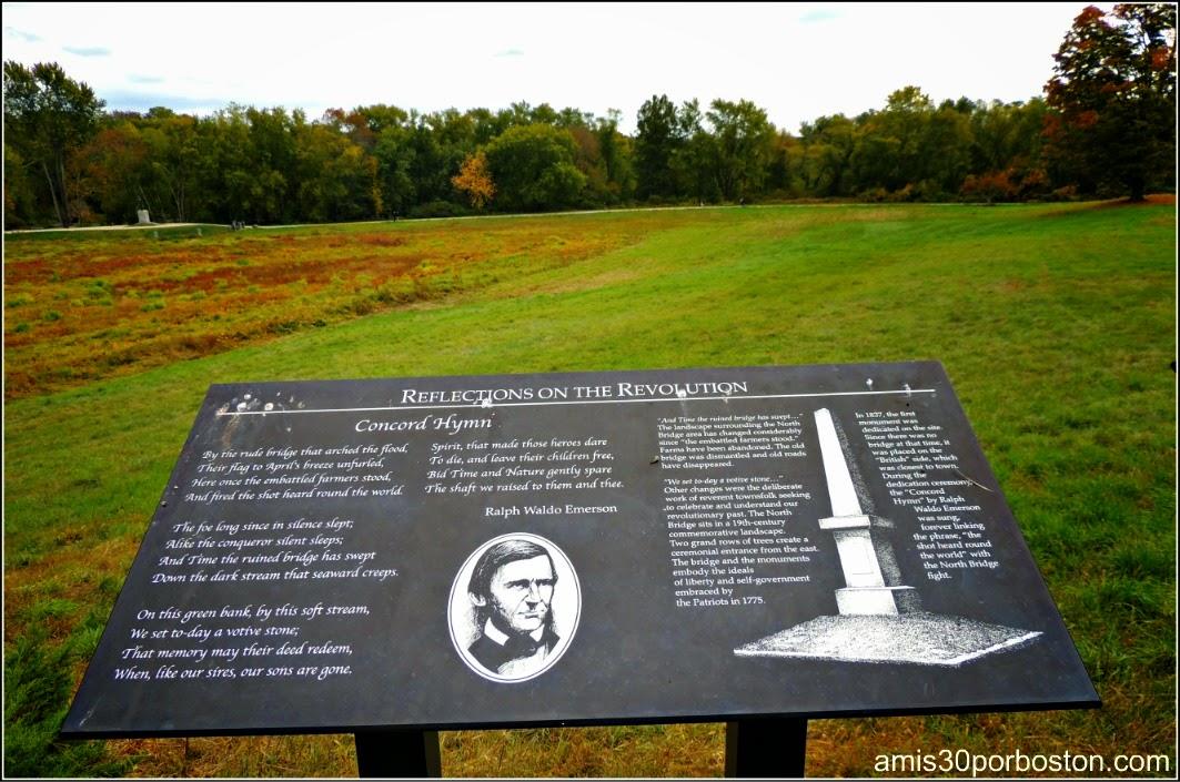 Patriots´ Day en Concord: Poema de Ralph Waldo Emerson