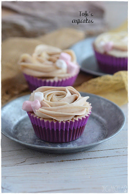 Toffee´s cupcakes