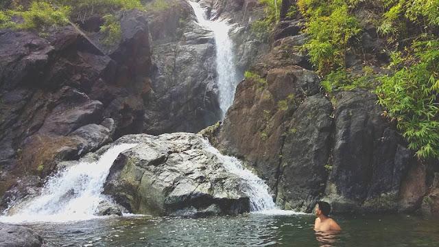 15 meter high Timmaguyyob Waterfall
