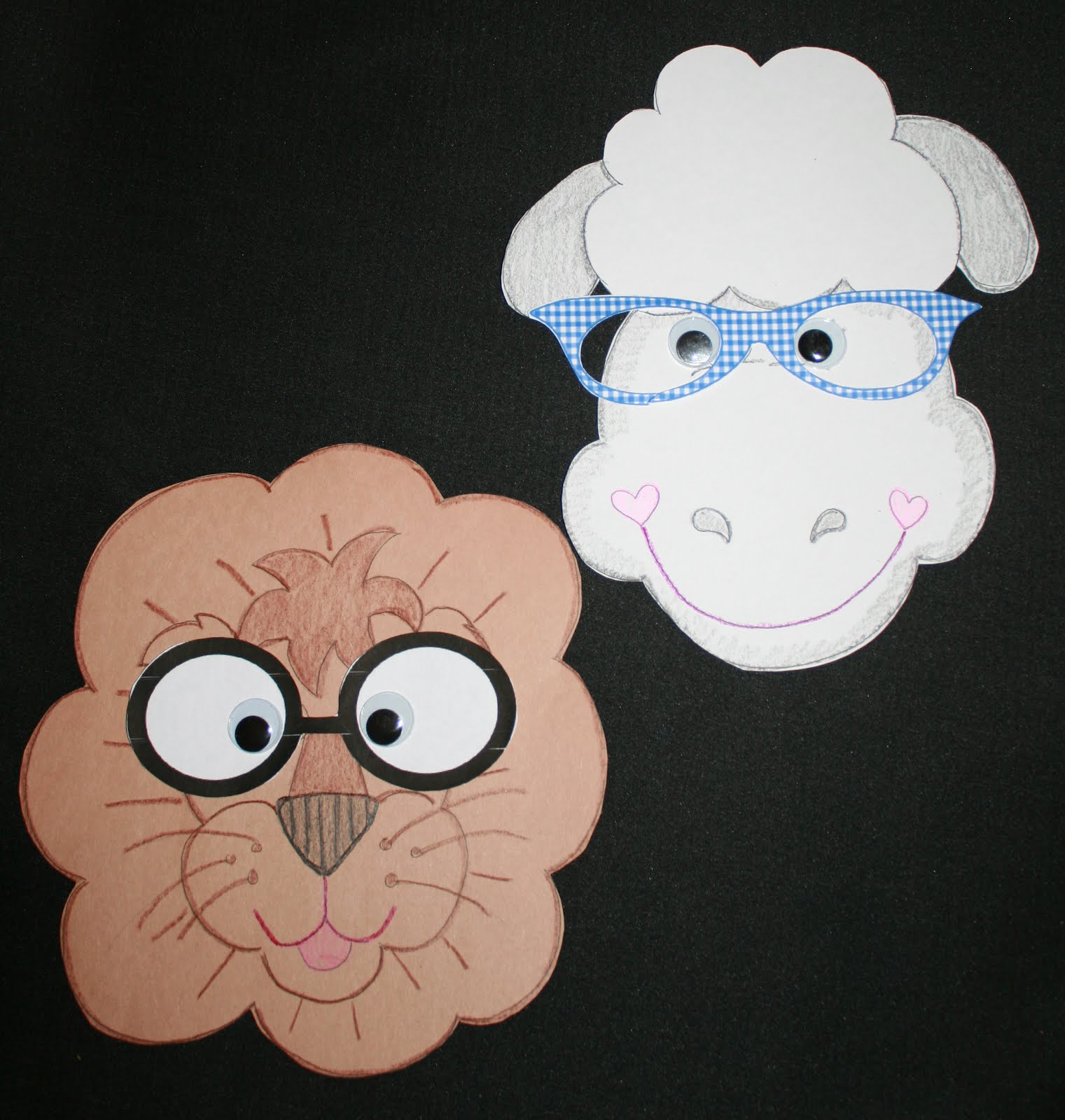 Classroom Freebies Too March Lion Amp Lamb Activities