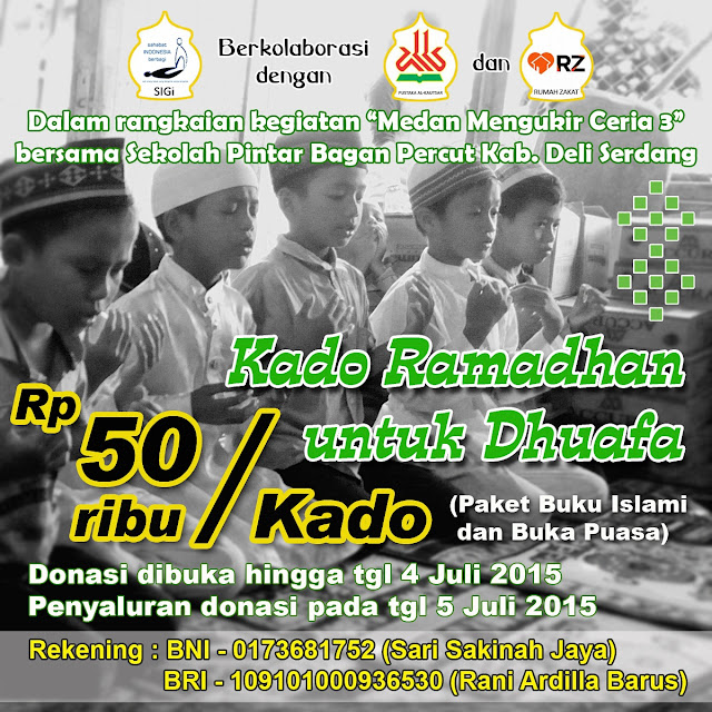 Kado Ramadhan Untuk Dhuafa Anak-Anak Nelayan Sekolah Pintar