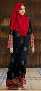 gaya muslimah elegan