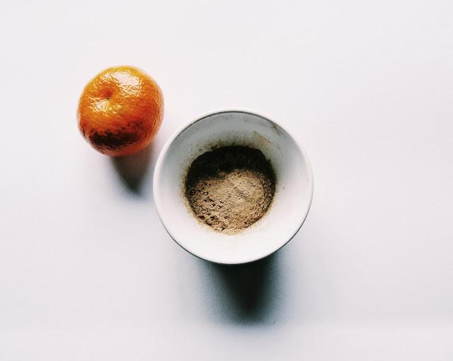 skórka z pomarańczy maseczka