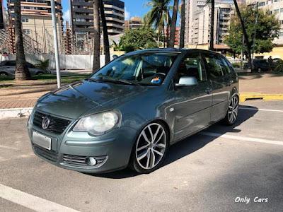 """VW Polo Rebaixado Rodas 18"""""""