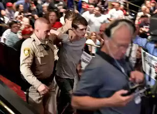 Michael Sandford attempts to kill Donald Trump at Las Vegas presidential rally