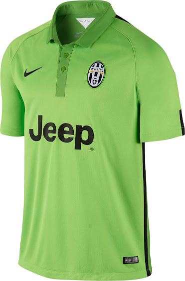 723d7764ca The new Juventus 2014-2015 Third Kit is based on the same template as the  PSG 14-15 Third Kit and comes in light green with black accents.