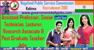 NPSC Recruitment 2018 Application of 86 Assistant Professor, Lecturers Posts