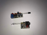 Completed infrared transmitter and receiver