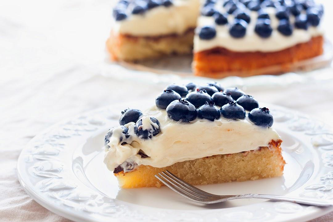 Mad & Søde Sager: Blåbærtærte
