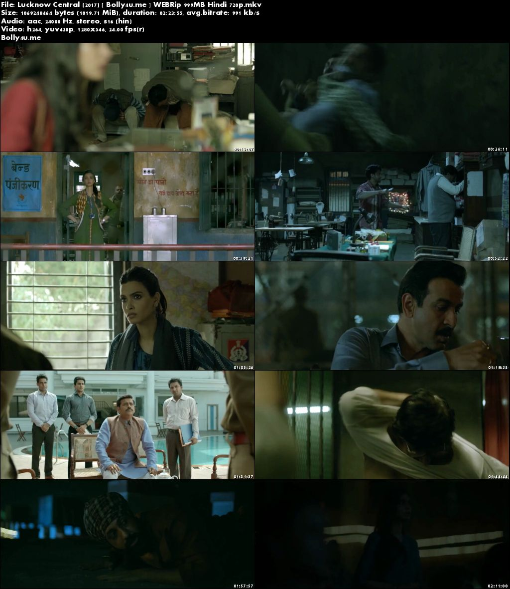 Lucknow Central 2017 WEBRip 400MB Full Hindi Movie Download 480p