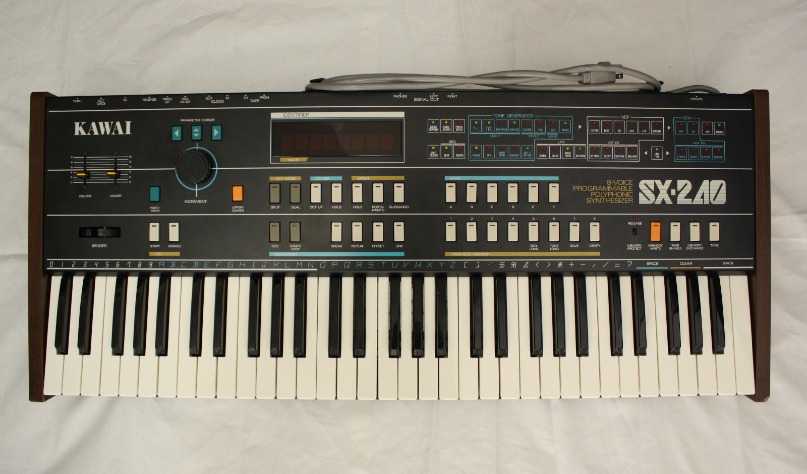 Matrixsynth Tuesday July 31 2012 Vintage Casio Sk1 Electronic Sampling Keyboard Circuit Bending Tested Kawai Sx 240 Analog Synthesizer