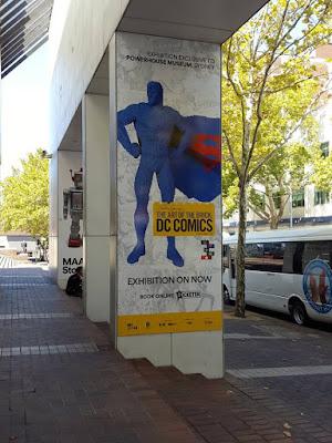 Art of the Brick DC Comics Sydney