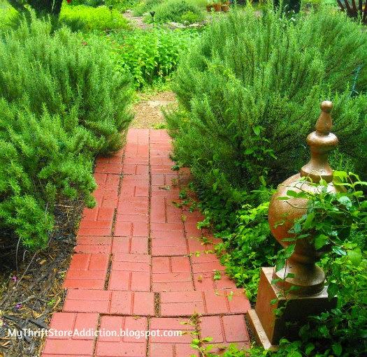 Fragrant Herb Garden Paths