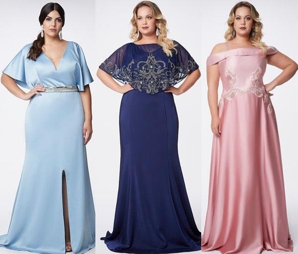 vestido longo para mãe dos noivos