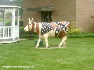 Cow Parade Art Event - Cattle of Gettysburg in Pennsylvania