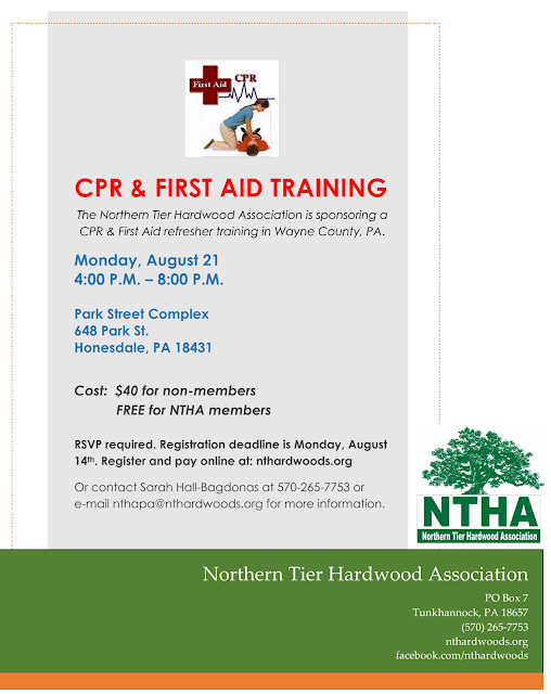 Pa Sfi Professional Timber Harvester Training Program First Aid