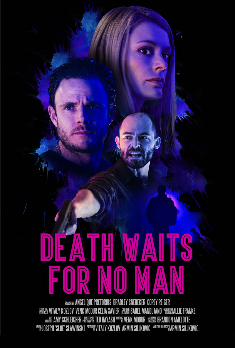 DEATH WAITS FOR NO MAN poster