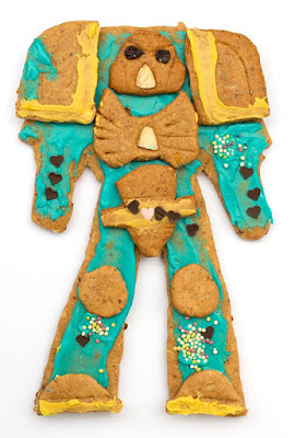 ginger bread space marine 1