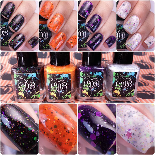 CDB Lacquer - Halloween 2015 Collection