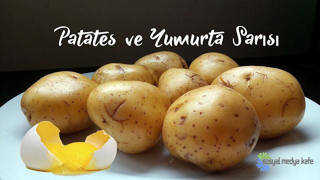 En Hızlı Saç Uzatma Yöntemi- Patates ve Yumurta Sarısı