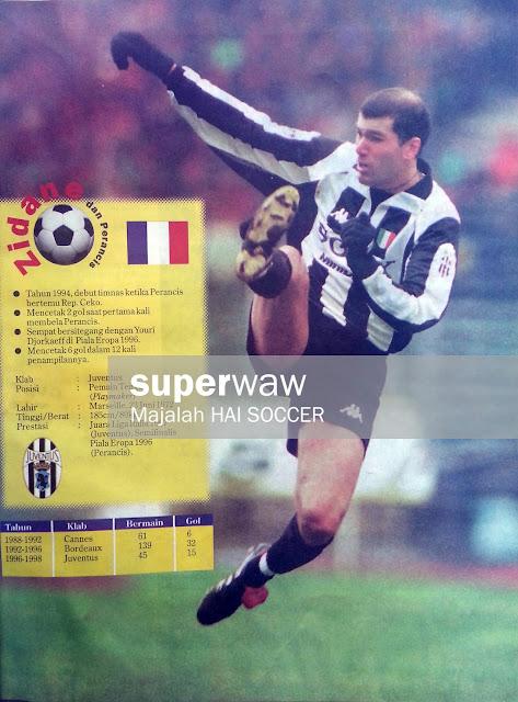 Zinedine Zidane Juventus 1997