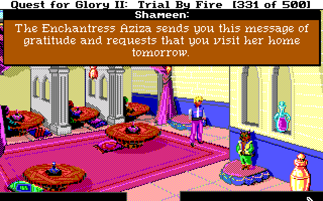 The adventure gamer game 45 quest for glory ii fight for your the adventure gamer game 45 quest for glory ii fight for your right to party fandeluxe Gallery