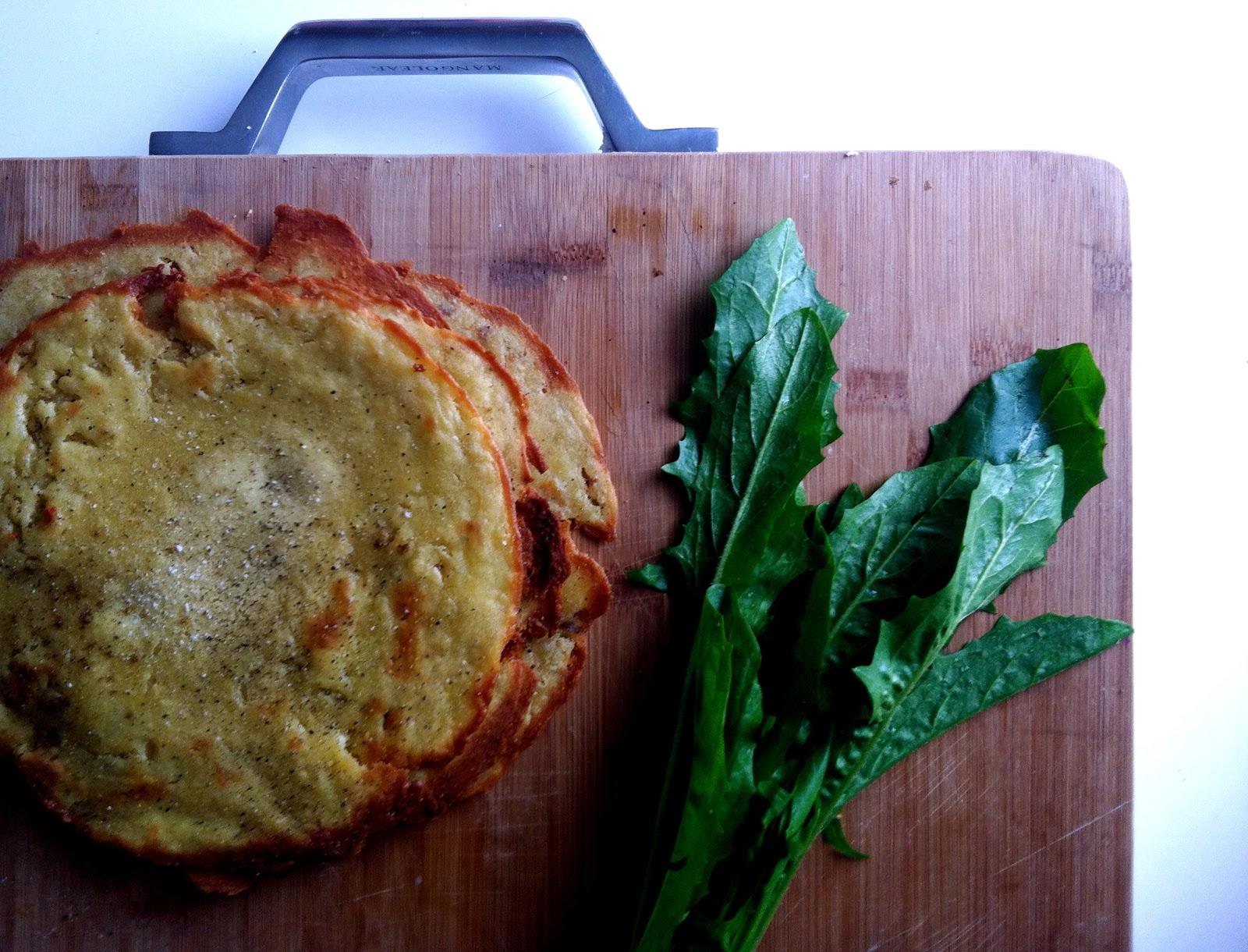 Slow Club Cookery Gluten Free Chickpea Flatbread