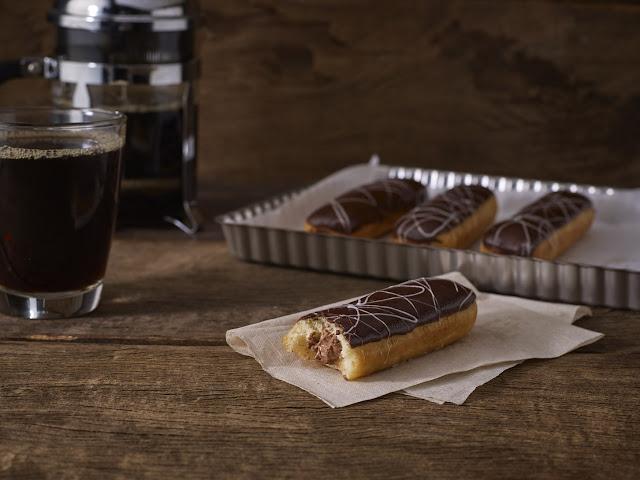 Starbucks Chocolate Doughnut Eclair