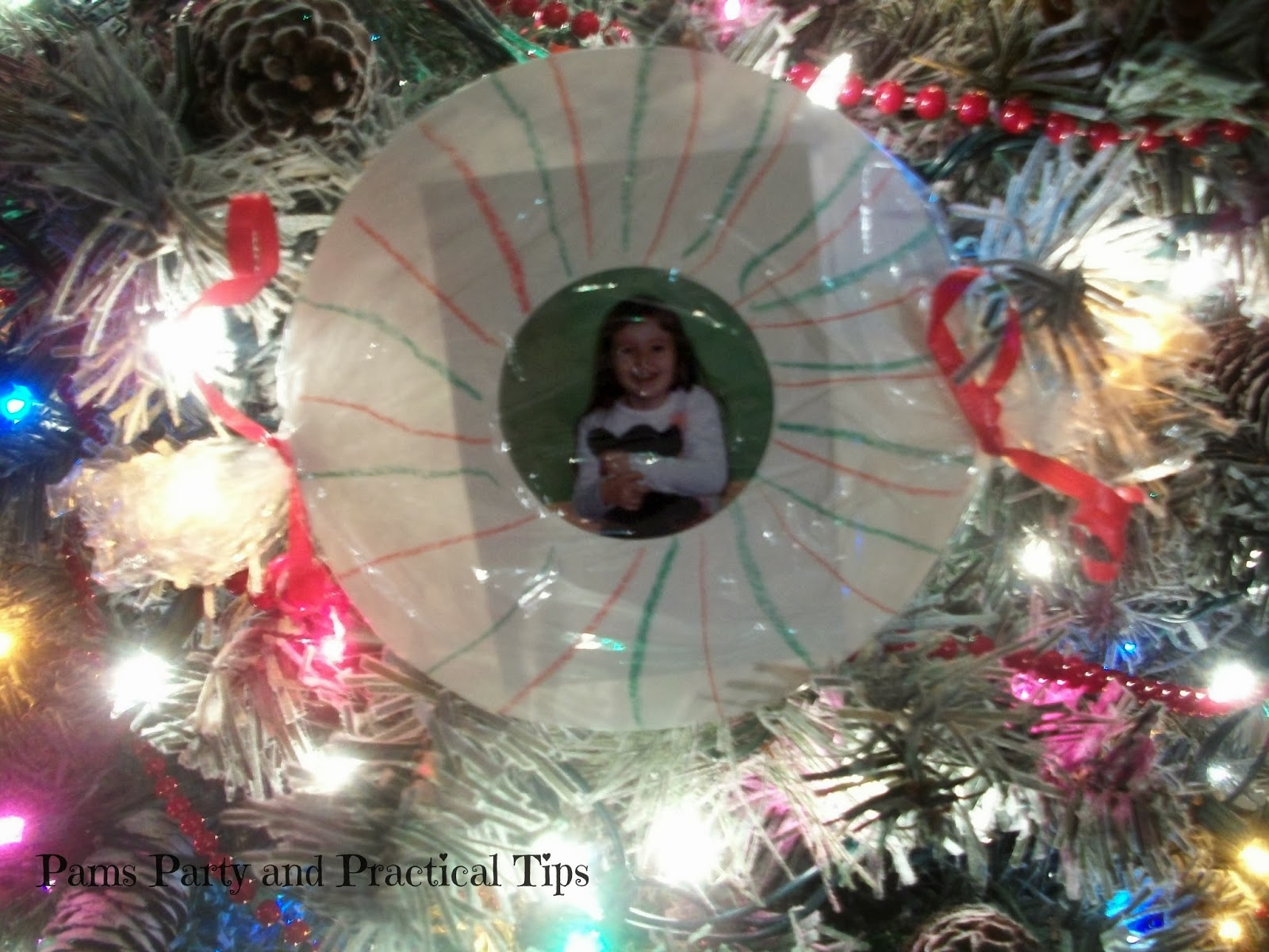 Pams Party & Practical Tips: Candy Frame Ornament
