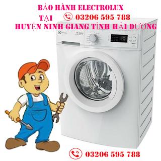 Bảo hành electrolux tại Ninh Giang Hải Dương