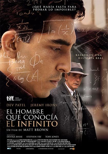El hombre que conocía el infinito (2015)