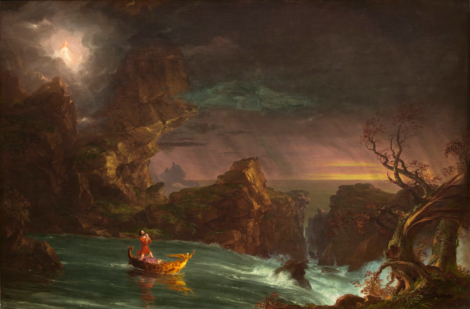 Pintura de Thomas Cole