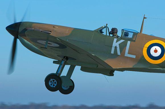 Supermarine Spitfire memiliki rasioi kemenangan tinggi dalam pertempuran