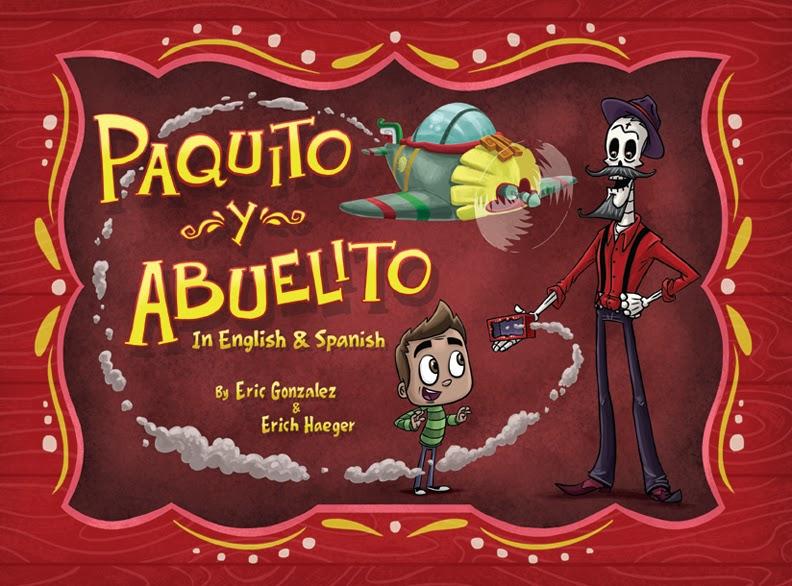 Libro Paquito y Abuelito.