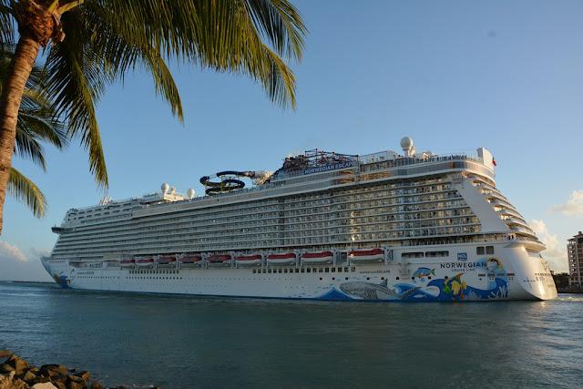 Miami Beach Pier Norwegian Escape