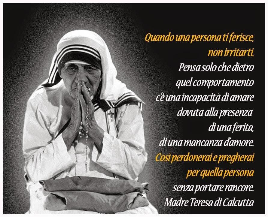 Auguri Matrimonio Madre Teresa : Madre teresa di calcutta frasi amicizia