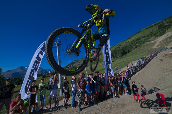 2015 Crankworx Les 2 Alpes Whip-Off Results