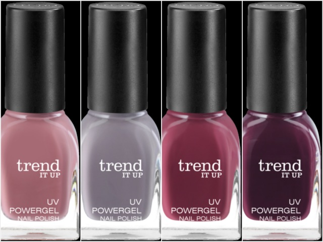 Die neuen trend IT UP, UV Powergel, Nagellack, Sortimentsupdate