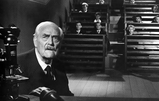 Victor Sjöström dans Les Fraises sauvages d'Ingmar Bergman (1957)