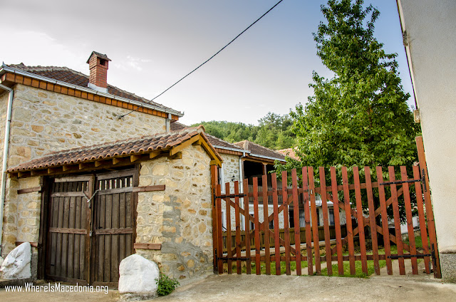 Ljubojno village, Resen Municipality, Macedonia - Traditional architecture