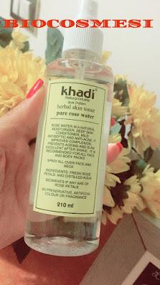 Acqua di Rose Khadi - Recensione