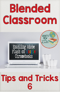 Blended Classroom Tips and Tricks: Enabling Adobe Flash on Google Chromebooks