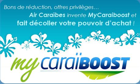My Caraiboost AIR CARAIBES - bon de réduction et de fidélisation