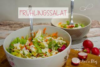 Keine Zeit für selbstgemachten Salat? Diese Ausrede funktioniert mit dem Rezept zu diesem leckeren Salat nicht mehr, denn mit wenigen Zutaten zaubert ihr im Handumdrehen einen leckeren Salat mit selbstgemachtem Joghurtdressing. Auf los gehts los!