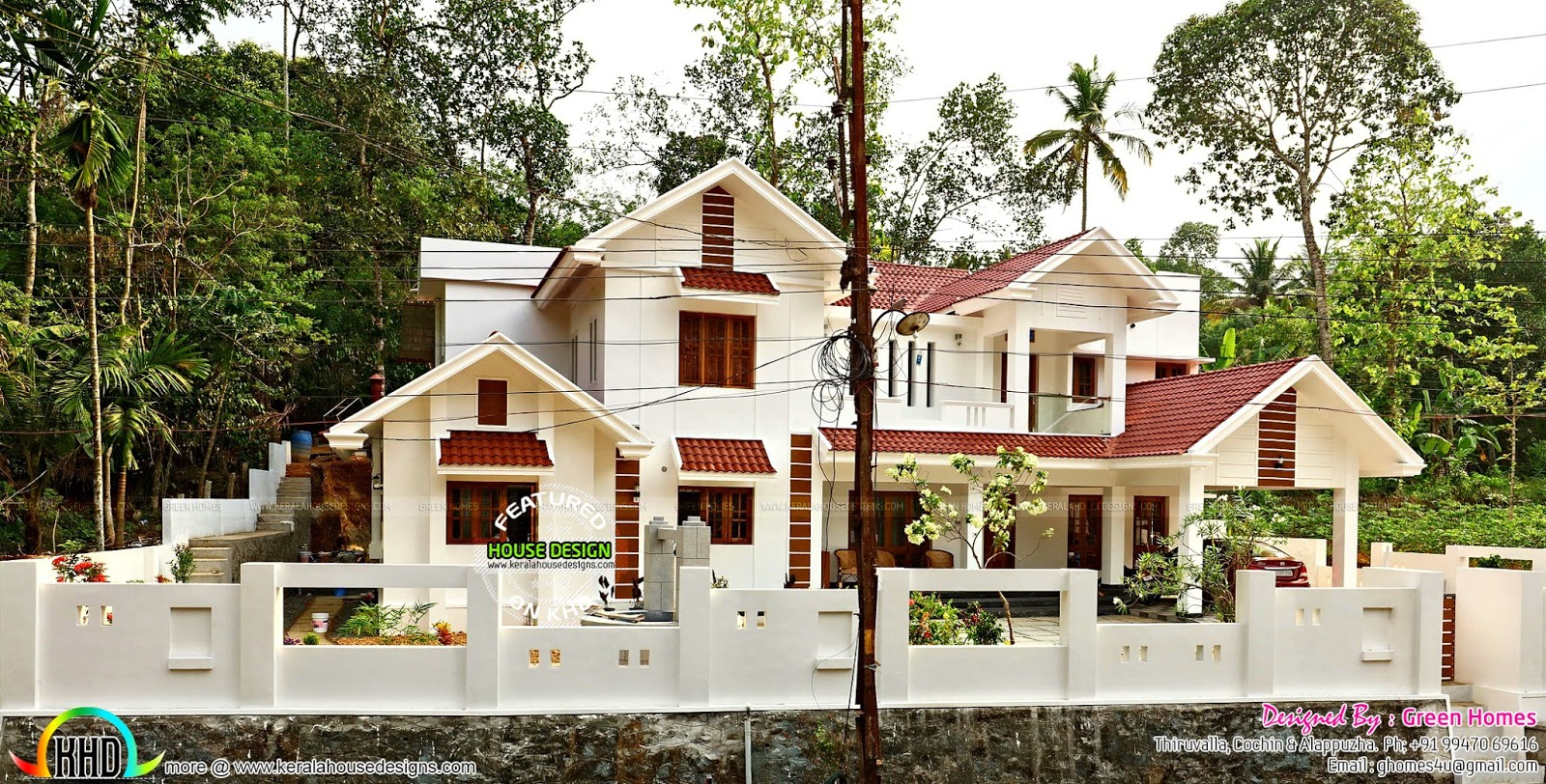 Exterior And Interior Of Finished 5 Bedroom Home Kerala